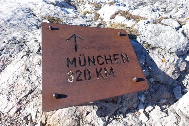 Waxriegel --> Munich